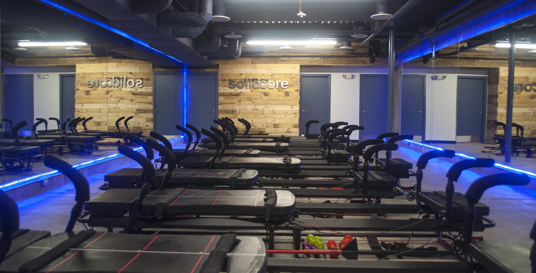 Solidcore 433 mass 3877 for 2000 sq ft gym layout